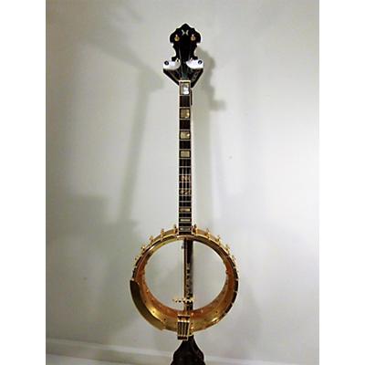 Used Richelieu Open Back Brass Banjo