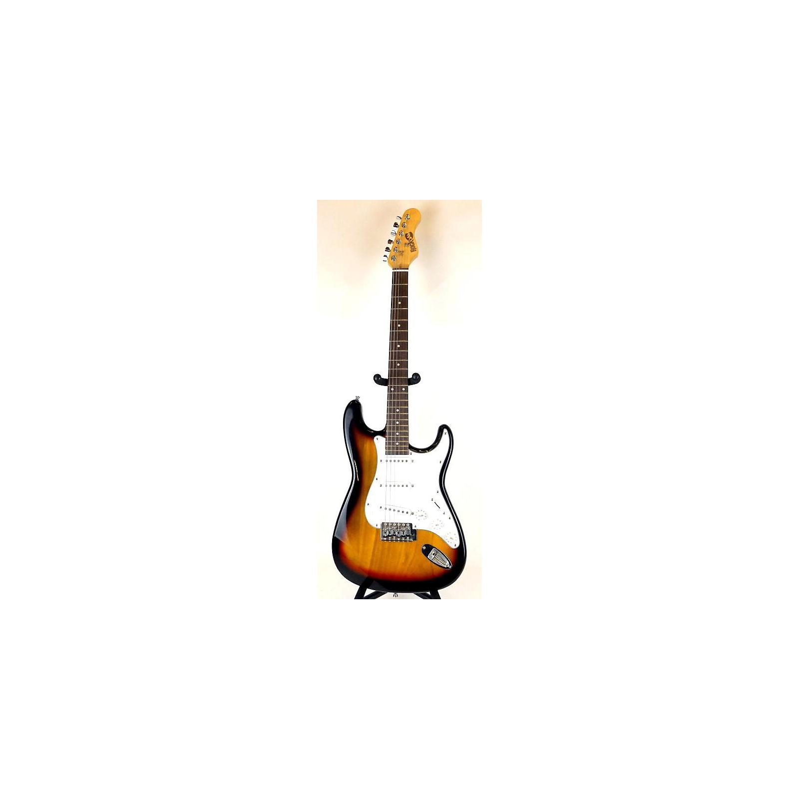 In Store Used Used Rock Jam Rock Jam 6 Sunburst Solid Body Electric Guitar