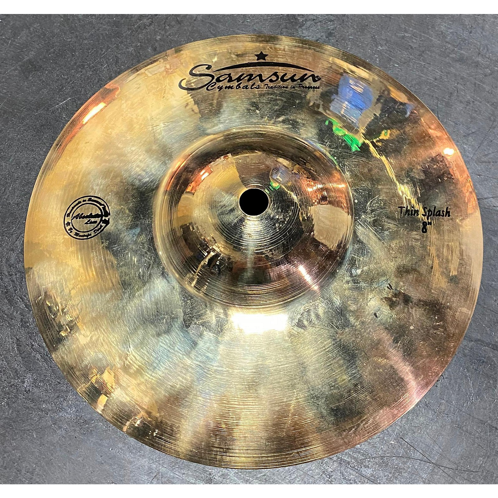 In Store Used Used SAMSUN 8in ABSOLUTE LINE THIN SPLASH Cymbal