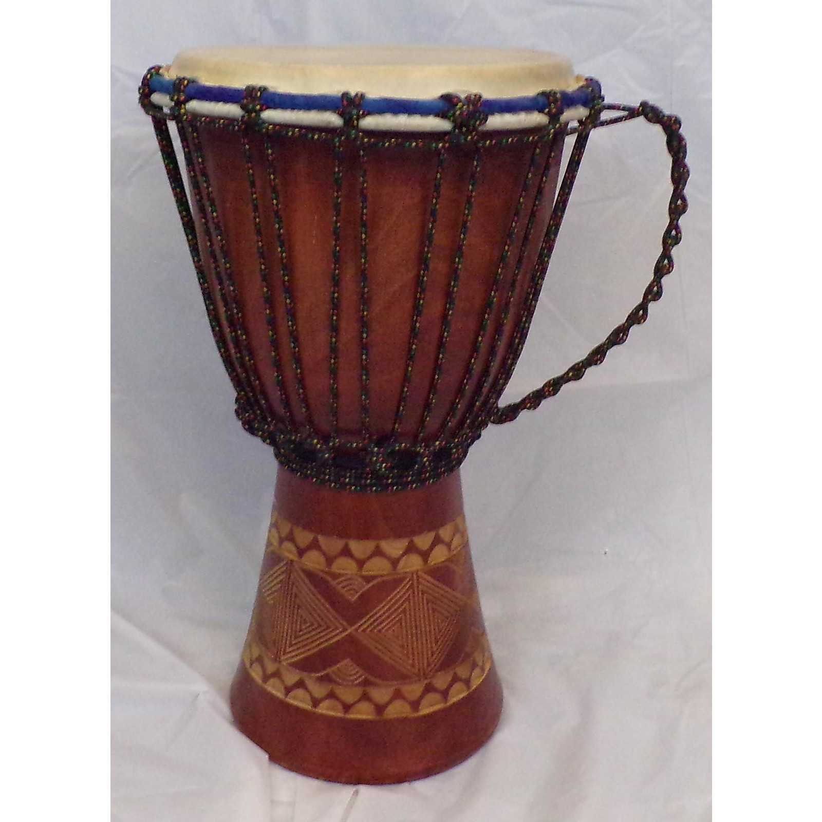 In Store Used Used Sageman Hand Carved Djembe