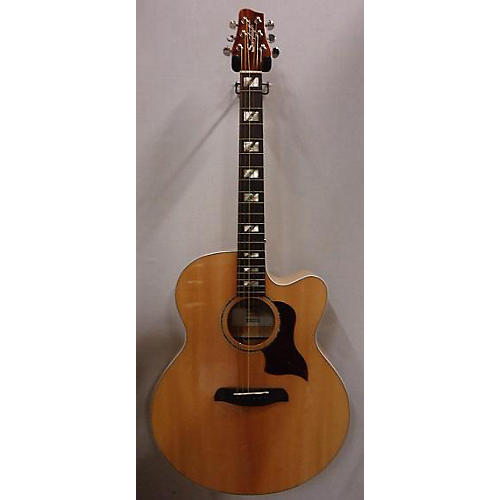 Used Sawtooth STMPLAEJC Blonde Acoustic Electric Guitar