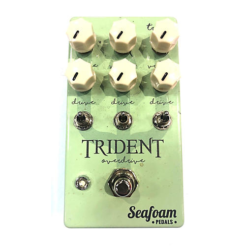 Used Seafoam Trident Effect Pedal