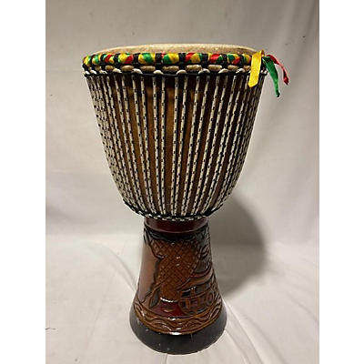 Used Senegalese Hand Made Djembe Large Djembe