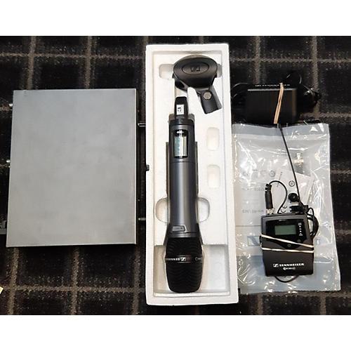 Sennheiser Used Sennheiser EM-d1/ E-835 Handheld/Lavalier/Bodypack Combo Wireless System