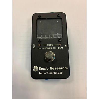 Used Sonic Research Turbo Tuner ST-300 Tuner Pedal