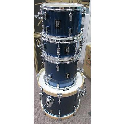 Used Sonnor 4 piece Aqx Jazz Blue Drum Kit