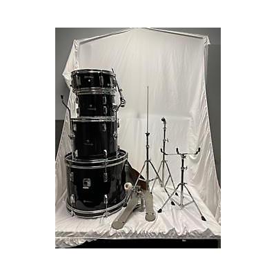 Used Sound Percussion 4 piece SP18K Black Drum Kit