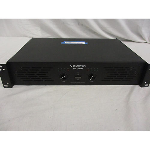 Used Sound Town Sta 3000i Power Amp