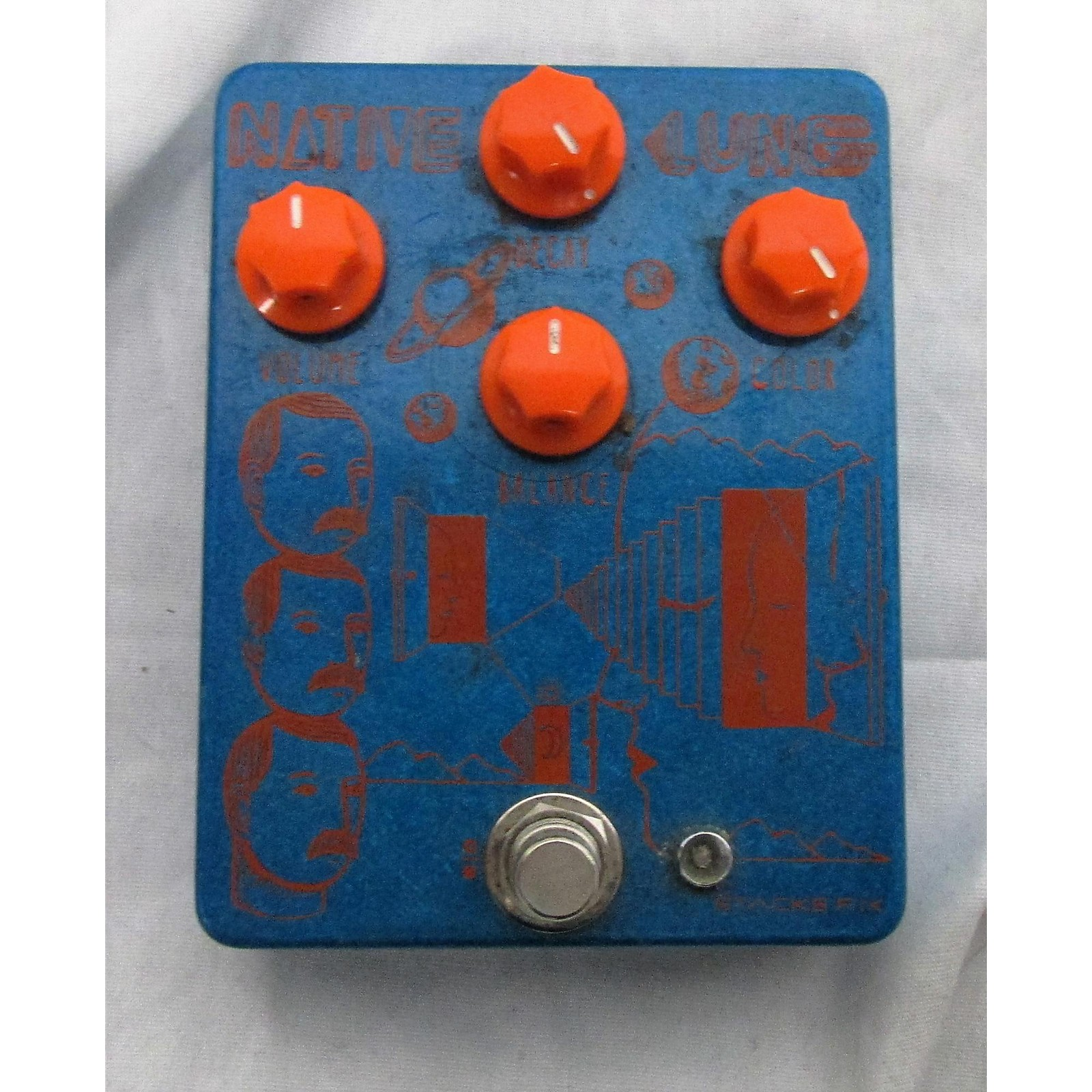 In Store Used Used Stacks Native Lung Effect Pedal