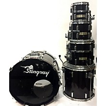 Used Stingray 5 piece Custom Fiberglass Voodoo Wine Drum Kit