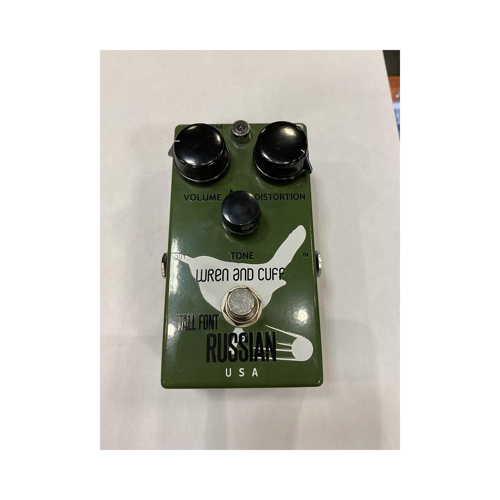 In Store Used Used TALL FONT RUSSIAN WREN AND CUFF Effect Pedal