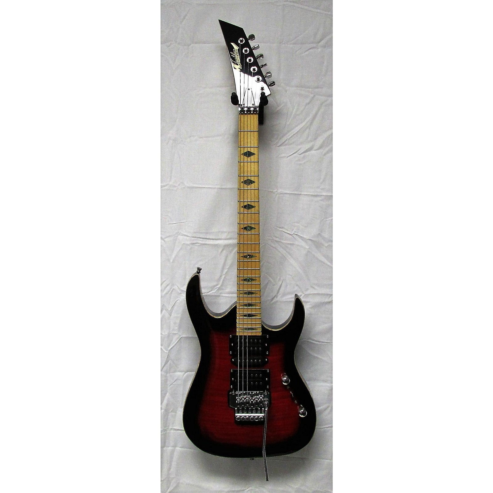In Store Used Used TTM JUSTIFIER Red Solid Body Electric Guitar