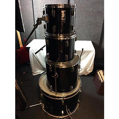 Used Thor 4 piece 4 Piece Kit Black Drum Kit