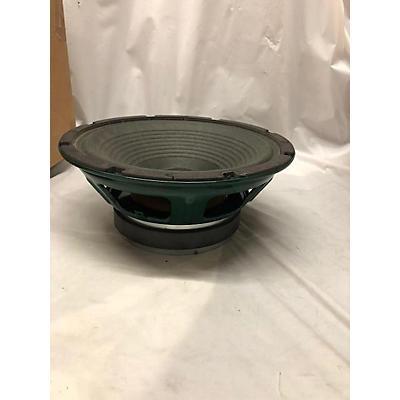 Used Tone Tubby Ceramic Green 10in 8ohm Raw Frame Speaker