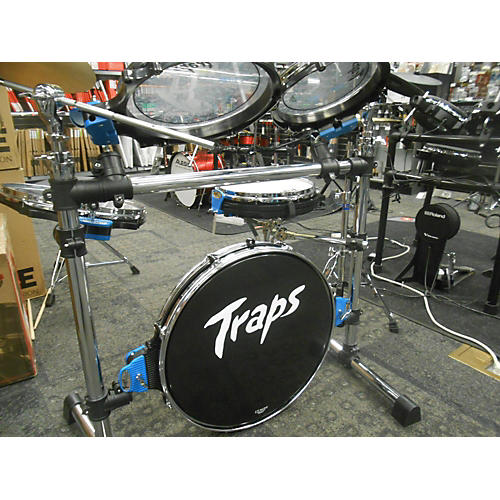 Used Trapps 5 piece A400 Clear Drum Kit
