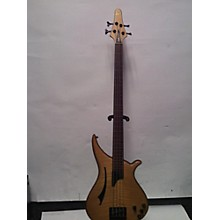 Used Tune Guitars WB4-FM Natural Electric Bass Guitar