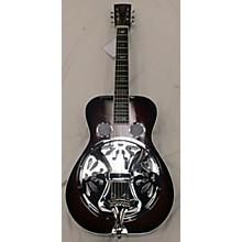 Used Tut Taylor Resophonic Sunburst Resonator Guitar