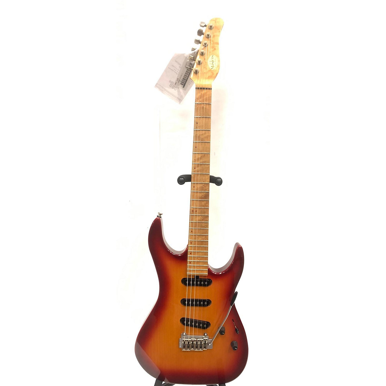 In Store Used Used USA Masters Vector 2 Tone Sunburst Solid Body Electric Guitar