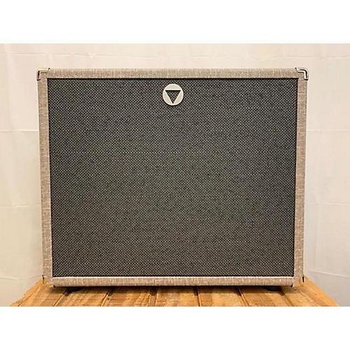 Used VBOUTIQUE VCAB 1X12 OVERSIZED CREAM BACK CELESTION Guitar Cabinet
