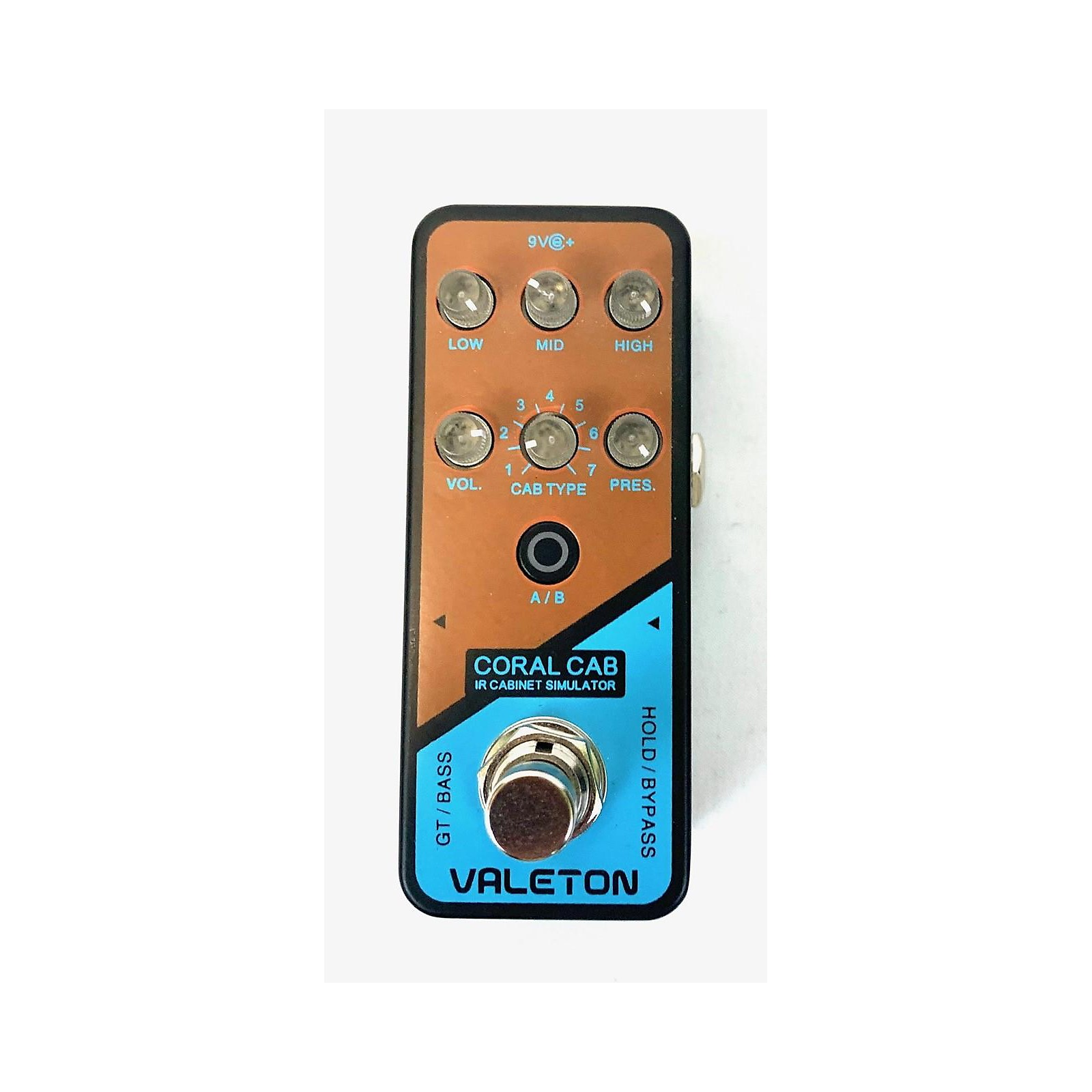 In Store Used Used Valeton Coral Cab Effect Pedal