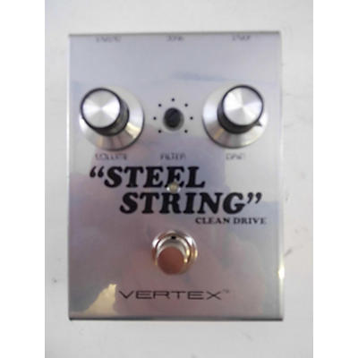Used Vertex Effects Steel String Overdrive Effect Pedal