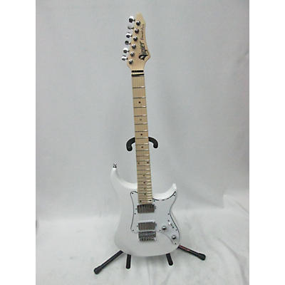 Used Vigier Excalibur Alpine White Solid Body Electric Guitar