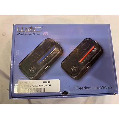 Used WIC WIRELESS GUITAR SYSTEM Instrument Wireless System