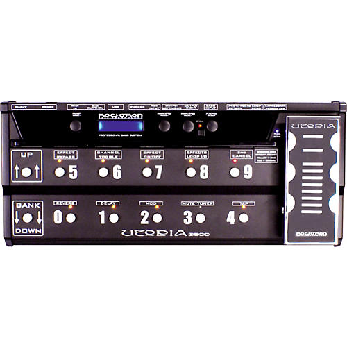 Rocktron Utopia B-300 Bass Floor Multi-Effects Pedal
