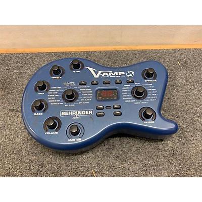 Behringer V-Amp 2 Guitar Effect Processor