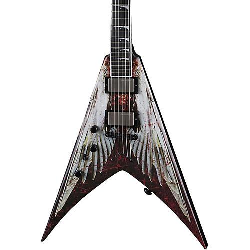 Dean V Dave Mustaine Angel of Deth Left-handed Electric Guitar