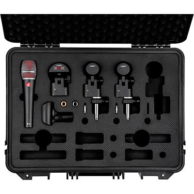 SE Electronics V Pack Venue Drum Microphone Package
