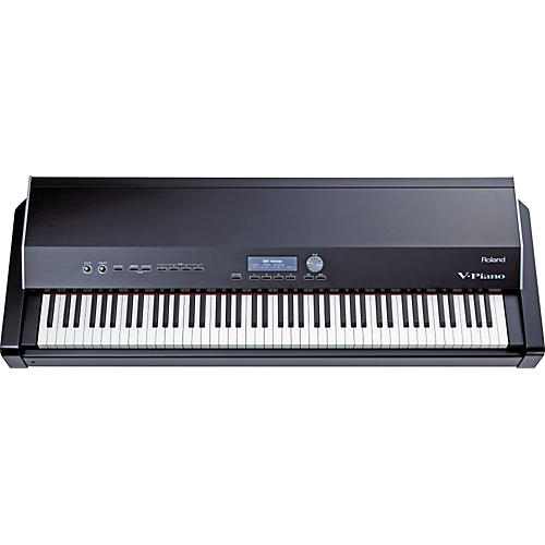 roland v piano digital stage piano with ks v8 stand musician 39 s friend. Black Bedroom Furniture Sets. Home Design Ideas