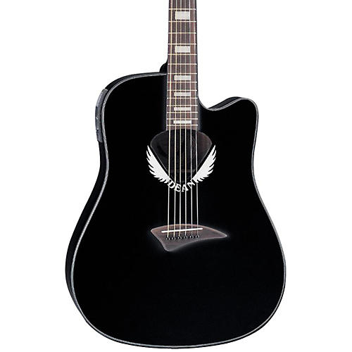 dean v wing cutaway dreadnought acoustic electric guitar musician 39 s friend. Black Bedroom Furniture Sets. Home Design Ideas