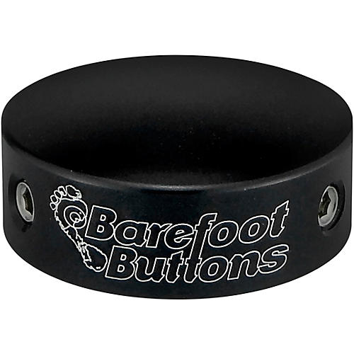 Barefoot Buttons V1 Big Bore Footswitch Cap Black