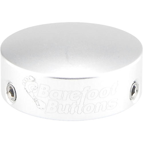 Barefoot Buttons V1 Skirtless Footswitch Cap Silver