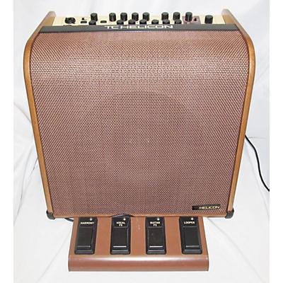 TC Helicon V100 Harmony Acoustic Guitar Combo Amp