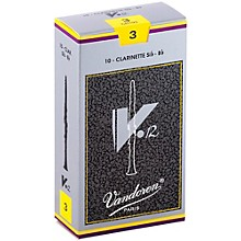 V12 Bb Clarinet Reeds Strength 3 Box of 10