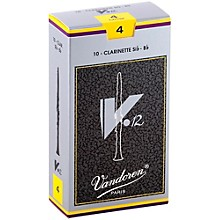 V12 Bb Clarinet Reeds Strength 4 Box of 10