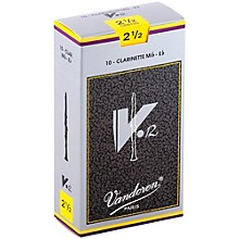 V12 Series Eb Clarinet Reeds Strength 2.5, Box of 10
