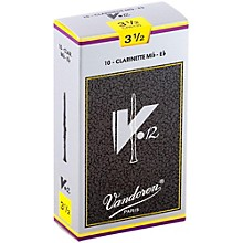V12 Series Eb Clarinet Reeds Strength 3.5, Box of 10