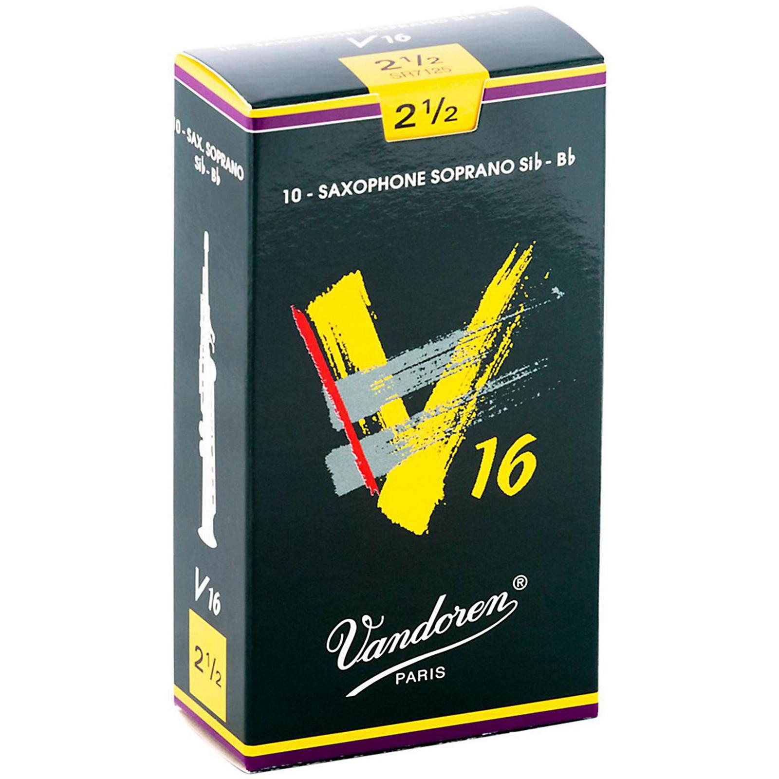 Vandoren V16 Soprano Saxophone Reeds