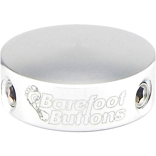 Barefoot Buttons V2 Mini Footswitch Cap Silver