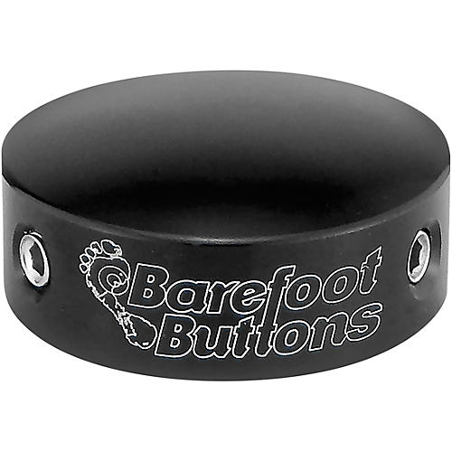 Barefoot Buttons V2 Standard Footswitch Cap Black