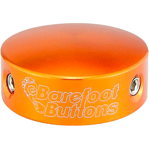 Barefoot Buttons V2 Standard Footswitch Cap Orange