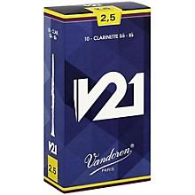 V21 Bb Clarinet Reeds Strength 2.5 Box of 10