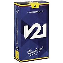 V21 Bb Clarinet Reeds Strength 3.0 Box of 10