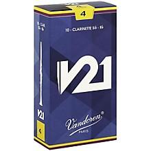 V21 Bb Clarinet Reeds Strength 4 Box of 10