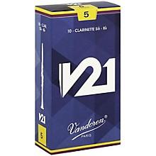 V21 Bb Clarinet Reeds Strength 5 Box of 10
