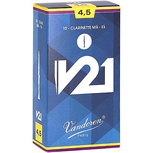 Vandoren V21 Eb Clarinet Reeds 4.5