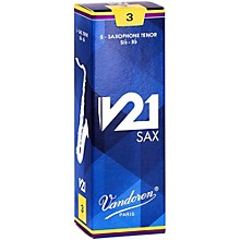 Vandoren V21 Tenor Saxophone Reeds, Box of 5